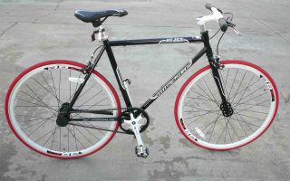 Fixie Fixed Gear Racing Bicycle Bike RD 269 53cm Black