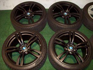 F10 M5 Style Matte Black Wheels E46 E90 E92 E93 325 328 330 335