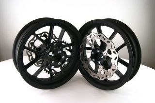 12 Motard Mag Wheels Rims Street Pit Bike Piranha