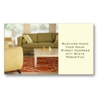 Home Interiors Business Card