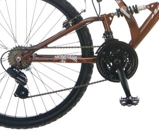 Mongoose 26 Melee Mens Dual Suspension Mountain Bike