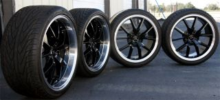 FR500 Mustang FR500 Wheels 20x8.5 & 20x10 and tires 2005 2013 Rims