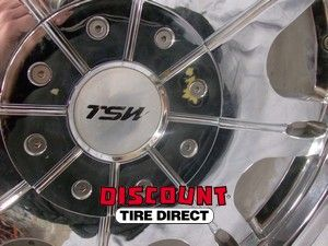 18x8 5x112 5x120 5 112 5 120 TSW Carlton Chrome Wheels Rims
