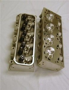 NSRA Show Display Big Block Ford 426 460 Aluminum Cylinder Heads