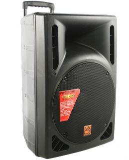 Mr DJ PBS 2009 Portable 15 Amplified DJ Speaker
