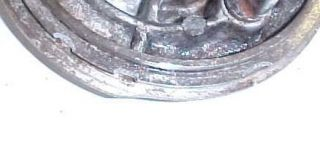 75 76 Yamaha RS100 RS 100 Rear Wheel Brake Hub Panel