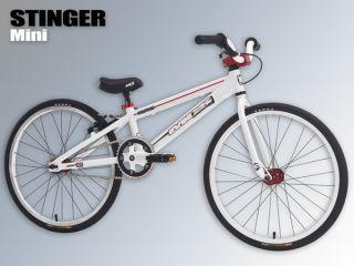 2013 Brand New MCS BMX Racing Stinger Mini Complete Bike White