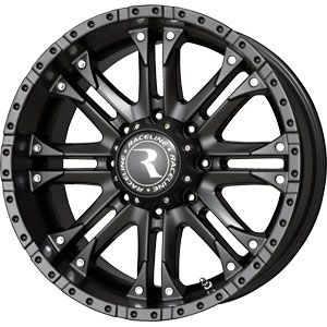20x9 8x170 Raceline WHL Black Wheels Rims 8 Lug Ford F250 F350