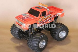 Tamiya 1 10 Super Clod Buster RC Monster Truck Ready to Run