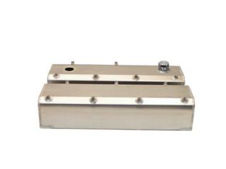 Fabricated Aluminum Valve Covers 65 386 Ford 429 460 Natural