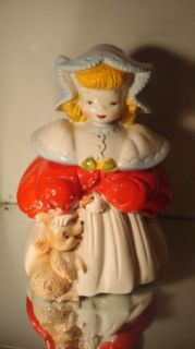 Goldilocks Cookie Jar Vintage Regal China 405
