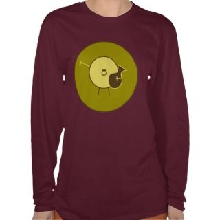 Aquarius Zodiac: Green, Brown, Yellow Tee Shirts