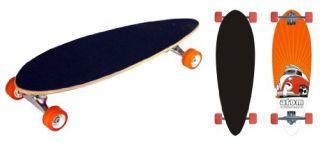 Features of Atom Mini Pin Tail Longboard (29 Inch)