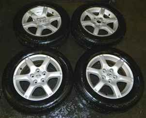 05 06 Altima 16 Alloy Wheels Rims Tires Set LKQ