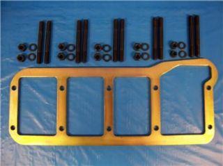 BBF Ford 460 Billet Steel Main Bearing Cap Girdle Zinc