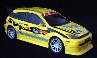 2002 2003 Ford Focus SVT Motormax Diecast 1 18 Scale