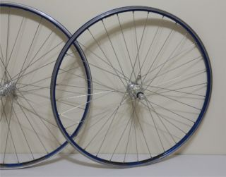 Campagnolo Record Ambrosio Excellence Team Edition Colnago Wheels Blue