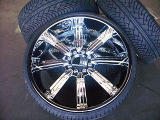 28 Hummer H2 SUT Chrome Wheels Rims 2003 2009 26 24