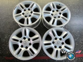 Lexus GX470 Factory 17 Silver Wheels Rims 74167 Tundra Sequoia