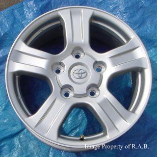 Toyota Tundra Sequoia LX470 original equipment alloy wheels & new SNOW