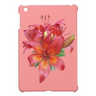 Red Day Lilies Apple's iPad Mini Case Cover