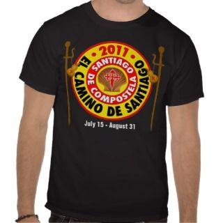 El Camino de Santiago 2011 Tee Shirts