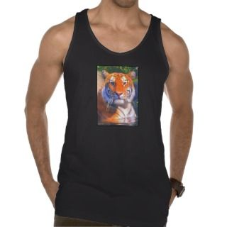 Siberian Tiger Mens Tank Top