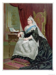 Portrait of Queen Victoria at the Time of Her Golden Jubilee in 1887, 1887 Giclee Print