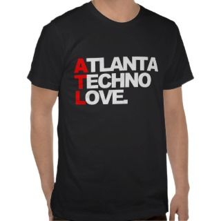 Atlanta Techno Love (black) Shirt
