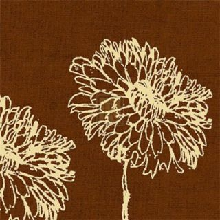 Chrysanthemum Square II Print by Alice Buckingham