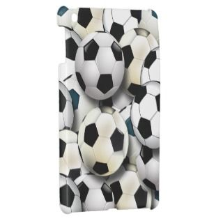 Soccer Balls iPad Mini Cases
