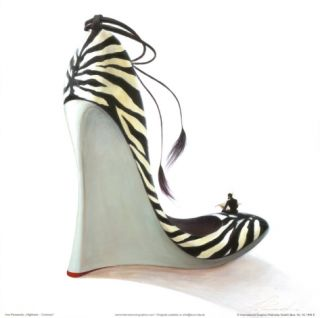 Highheels, Coolness Print by Inna Panasenko
