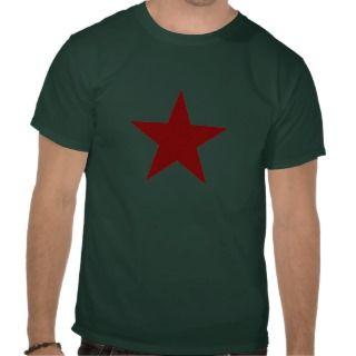 Red Star Black Shirt