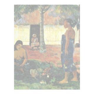 Why Are You Angry? (No Te Aha Oe Riri?) By Gauguin Custom Letterhead
