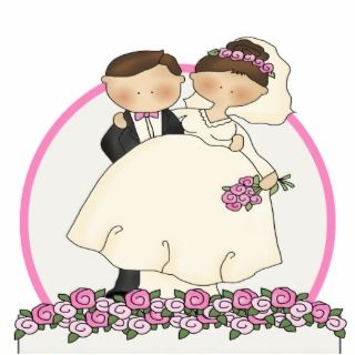 Wedding Cake Toppers Photo Cutouts