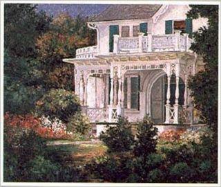 Victorian Porch Print