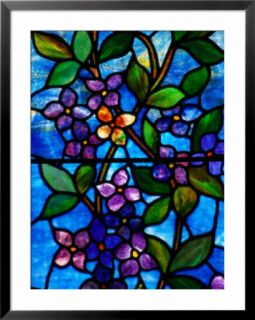 Stained glass by George Spence, Jonesport, ME Pre made Frame