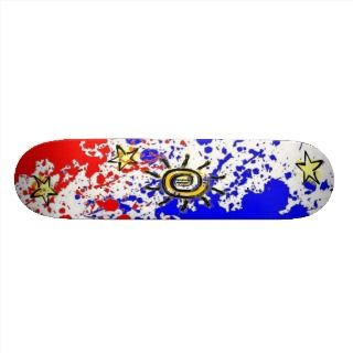 Pinoy Philippine flag Design Skateboard deck