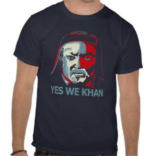 Yes We Khan (Dark) Tees