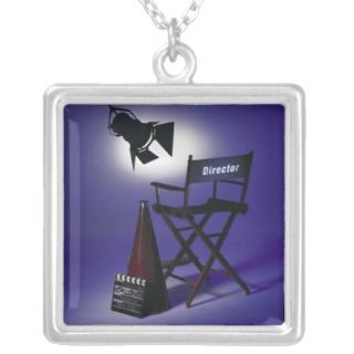 Directors Slate, Chair & Stage Light 2 Jewelry