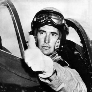 Ted Williams, American Baseball Player and Marine Corps Pilot, 1952. Csu Archives Premium Poster