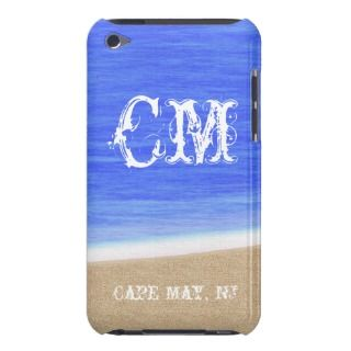 CM Cape May NJ Beach iPod Case iPod Touch Cases