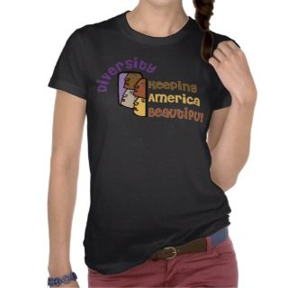 Diversity    Keeping America Beautiful Tee Shirt