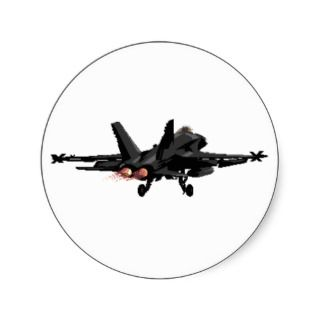 18 Hornet Fighter Jet Stickers