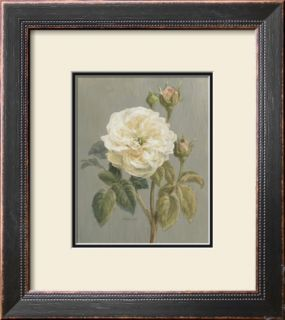 Heirloom White Rose Pre made Frame