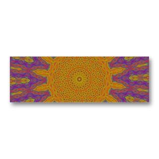 Abstract Sun Design Business Card Templates