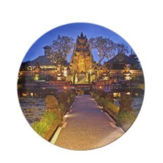 Plate  Cafe Lotus Saraswati Temple Ubud Bali