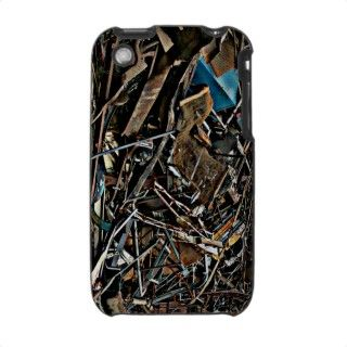 Pile of Metal Junk for Recycling Case For The iPhone 3