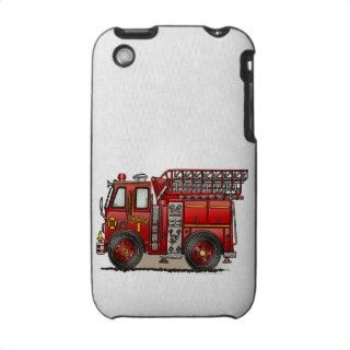 Ladder Fire Truck Cover iPhone 3 Case