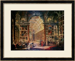Interior View of the Colonna Gallery, Rome Framed Giclee Print